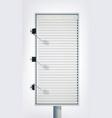 commercial light vertical billboard vector image vector image