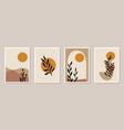 creative minimalist hand draw abstract art vector image