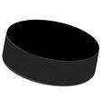 Hockey puck vector image vector image