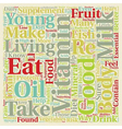 How Toxins in Our Diet Can Affect Our Health text vector image vector image