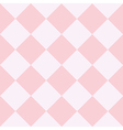 Pink White Chess Board Diamond Background vector image vector image