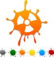 Radiation blot vector image