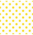 Yellow Polka Dot Pattern