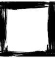 brush frame vector image vector image