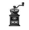 coffee grinder object or design element vector image