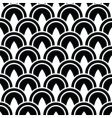 decorative circle pattern vector image vector image
