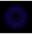 Explosion Dark blue vector image vector image