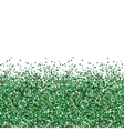 Glitter green texture vector image