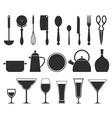 Kitchen accessories vector image vector image