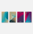 modern business geometric template covers vector image vector image