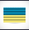 Ukraine siding produce company icon vector image vector image