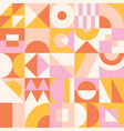 abstract seamless pattern mid century design vector image vector image