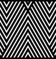 black and white diagonal lines with stipes vector image
