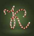 Candy cane abc k