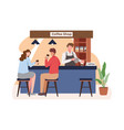 coffee shop concept vector image