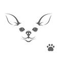 cute chihuahua dog vector image