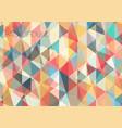 flat triangle geometric wallpaper vector image vector image