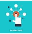 interaction vector image
