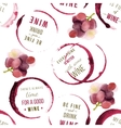 wine type designs seamless vector image