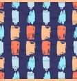 brush stroke artistic seamless pattern vector image vector image