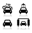 Car wash icons set - vector | Price: 1 Credit (USD $1)