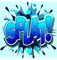 splat vector image vector image