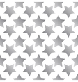 The pattern of striped black five-pointed star vector image vector image