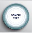 white blue target banner vector image