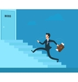 Stressed businessman vector image