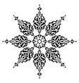 Antique ottoman turkish design nine vector image vector image