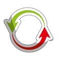 arrows around isolated icon