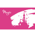 fairy tale silhouette collection vector image vector image