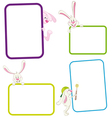 Frames with rabbits vector | Price: 1 Credit (USD $1)