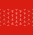 seamless christmas holidays background vector image