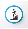 staircase icon symbol premium quality isolated vector image
