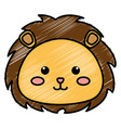 stuffed animal lion vector image