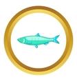 Baltic herring icon vector image vector image