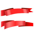 ribbon icon vector image vector image