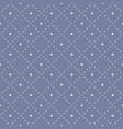 subtle seamless pattern with tiny star shapes vector image