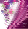 abstract multicolored polygon low polygon vector image vector image