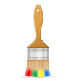 art creative paint brush concept vector image vector image