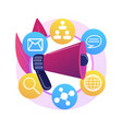 diversity marketing abstract concept vector image vector image