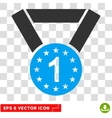First Medal Eps Icon vector image