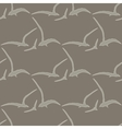 Gull seamless pattern vector image vector image