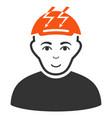 headache person icon vector image
