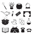 Magic Related Icons Set vector image vector image