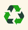 recycle reuse arrows - ecology icon collection vector image vector image