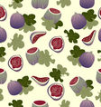seamless figs vector image vector image