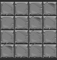 seamless texture of gray square stone background vector image