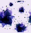 abstract watercolor floral art hand